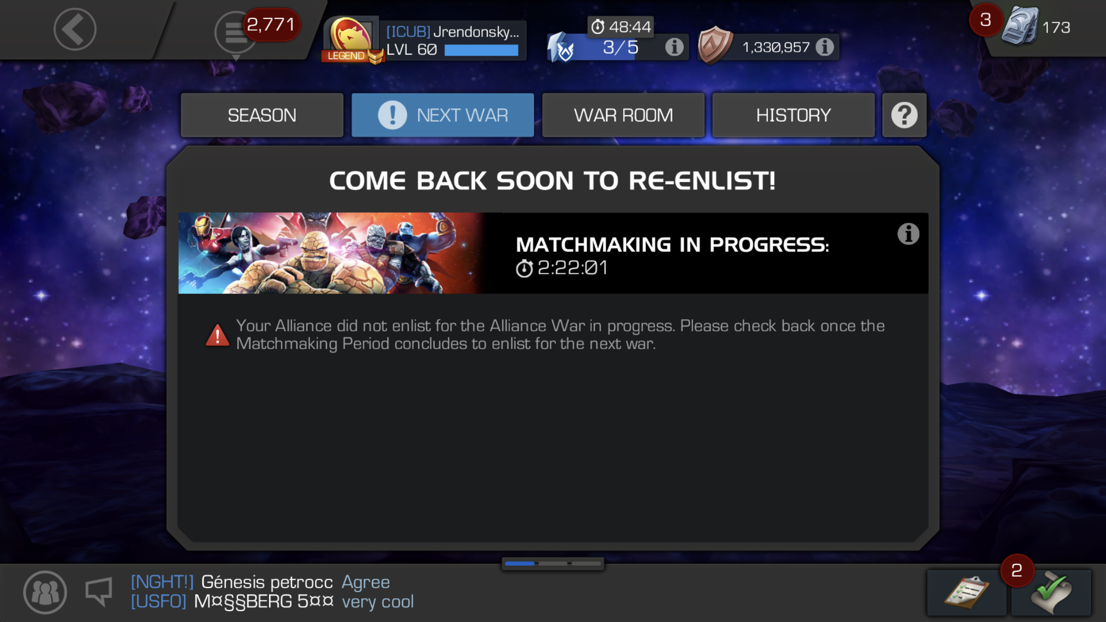 over 60 matchmaking