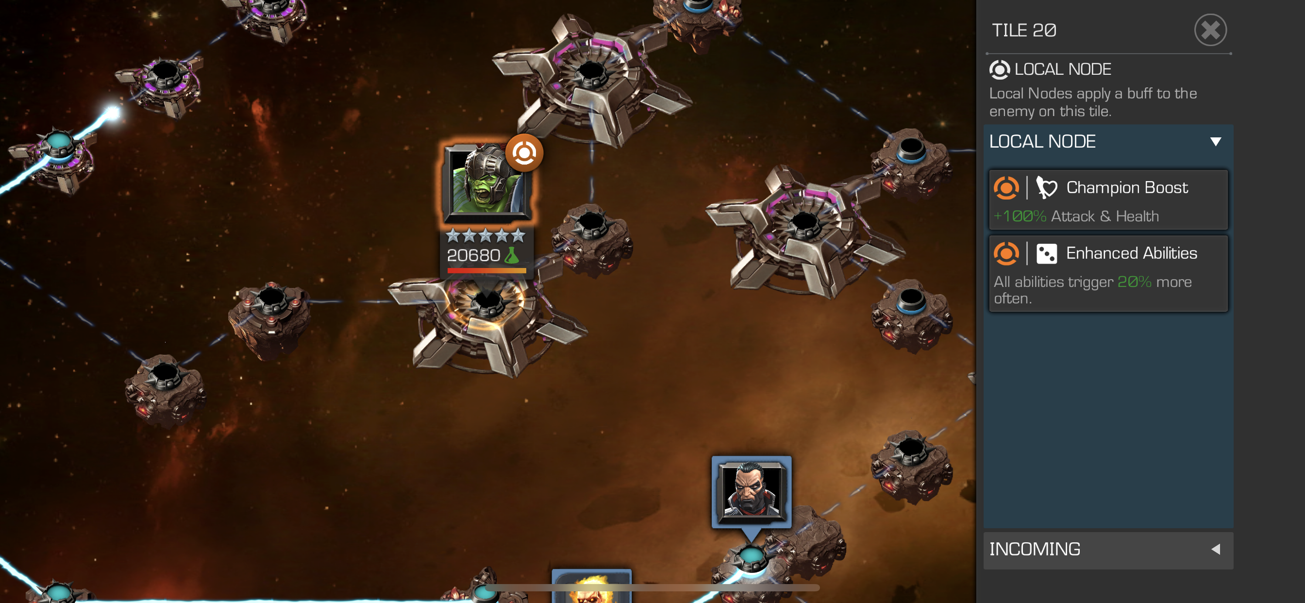 Nick Fury/Quake Synergy Bug — Marvel Contest of Champions