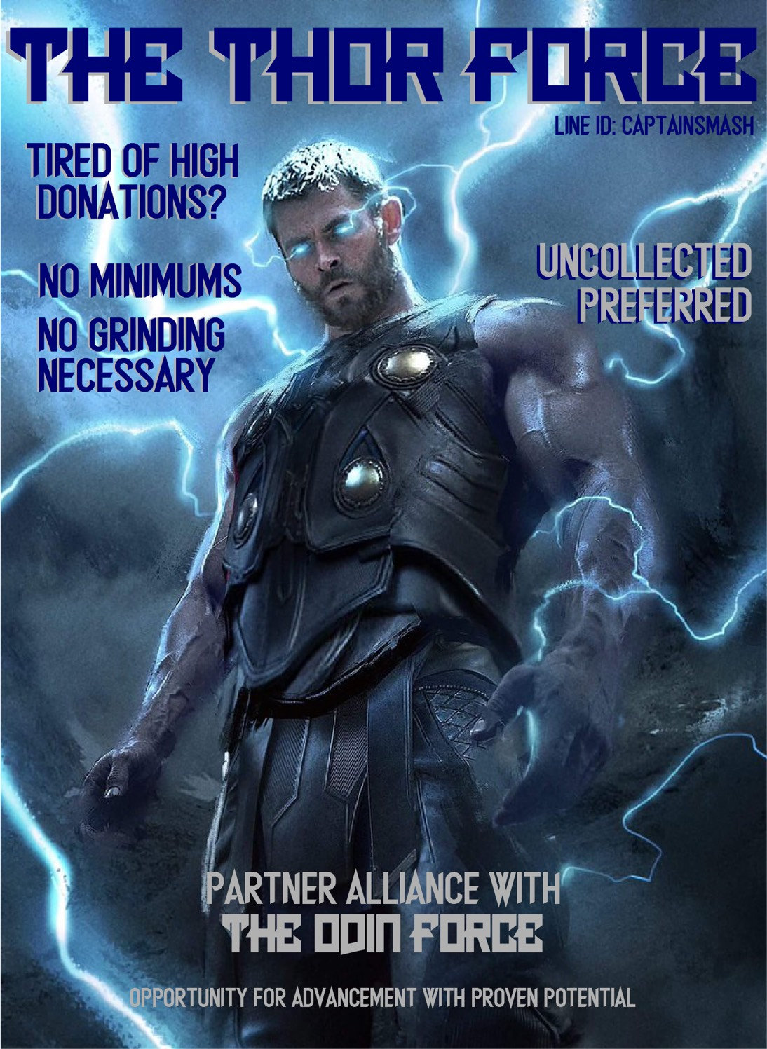 Top 100 Alliance The Odin Force Are Recruiting For Sister Alliance