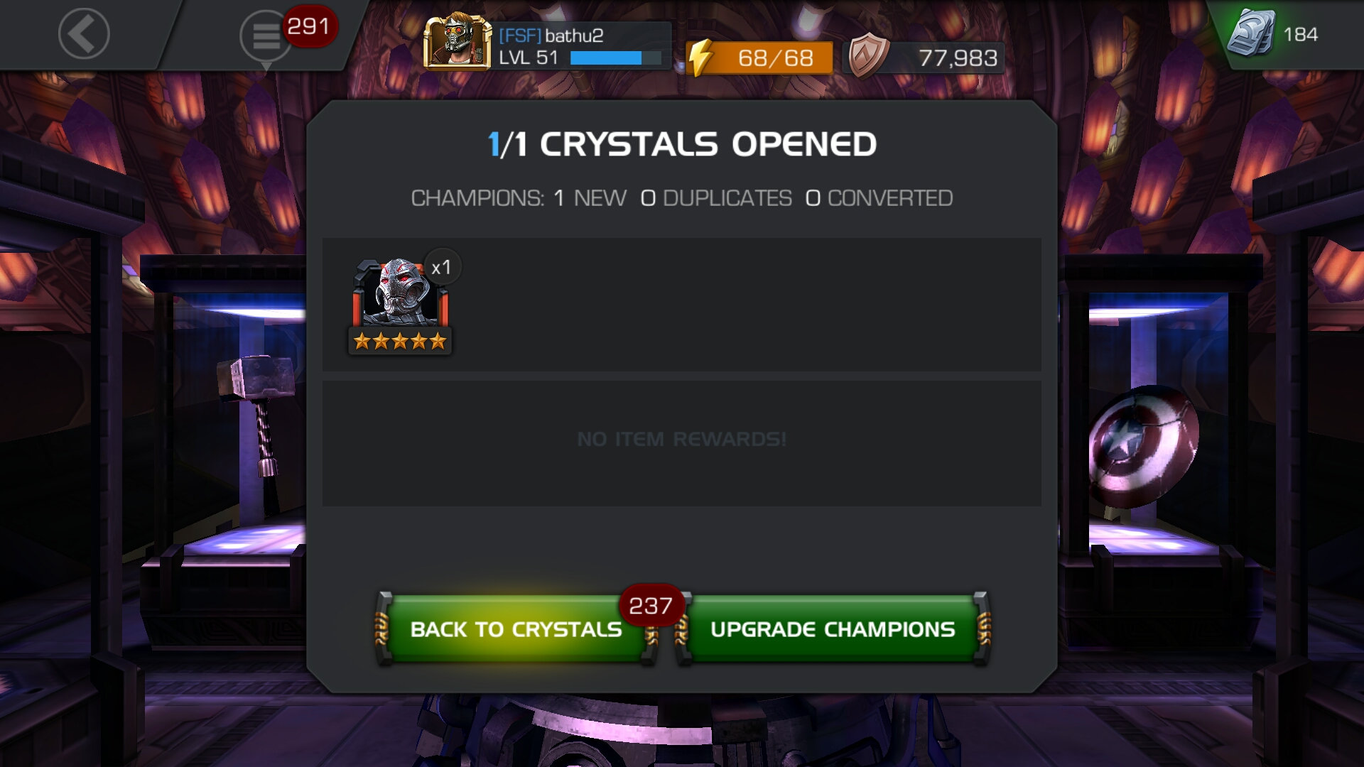 GOT 5 ULTRON — Marvel Contest of Champions