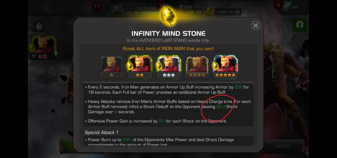 If mind stone is bugged or not? — Marvel Contest of Champions