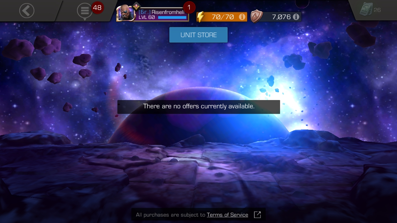 Unit store Missing — Marvel Contest of Champions