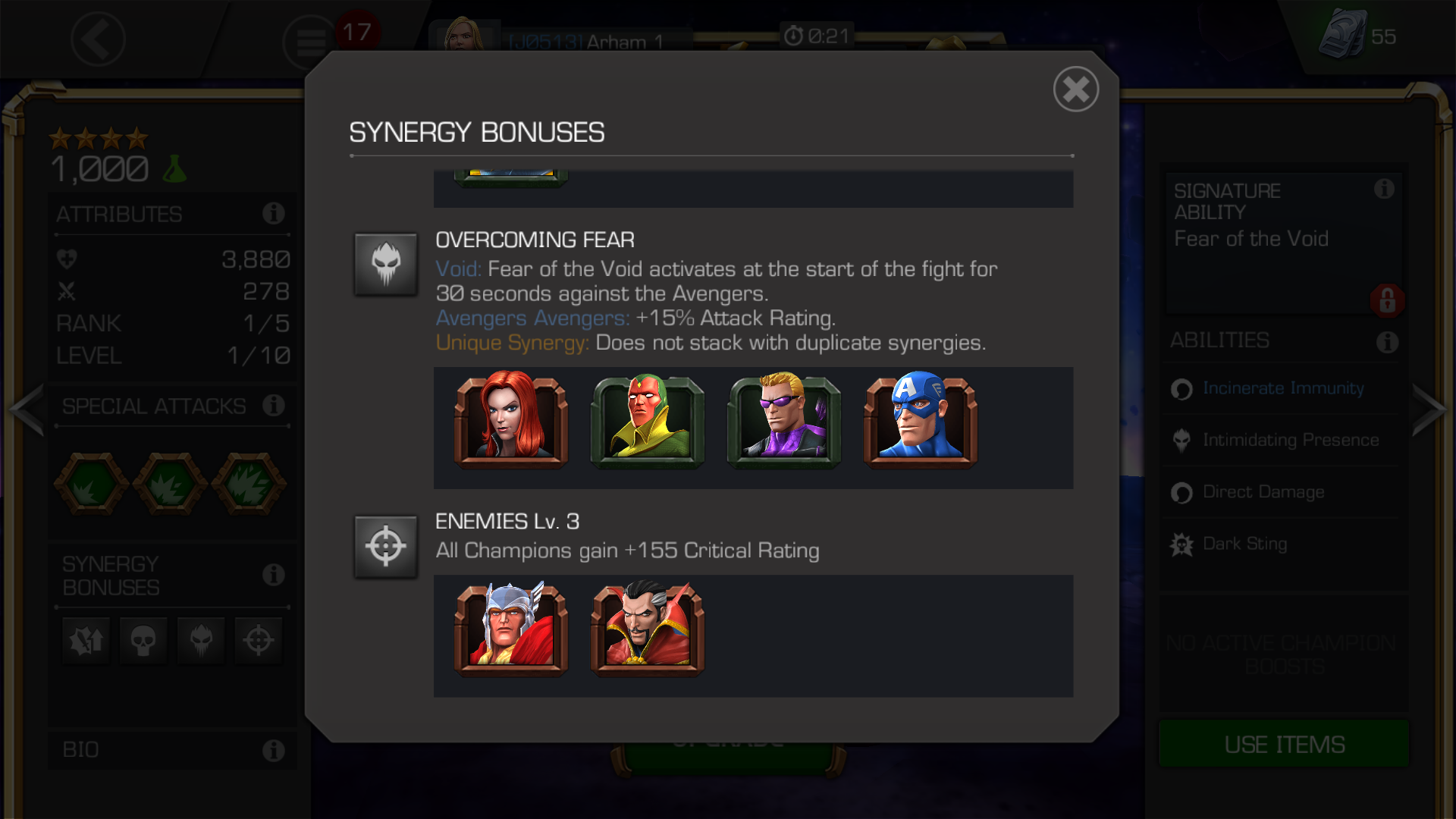 Best Of — Marvel Contest of Champions