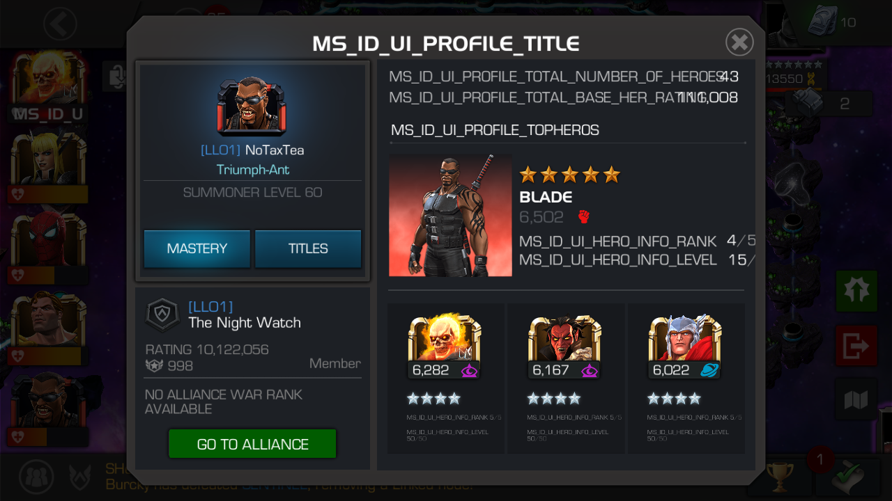 Ms_ID_ error [Merged Threads] — Marvel Contest of Champions