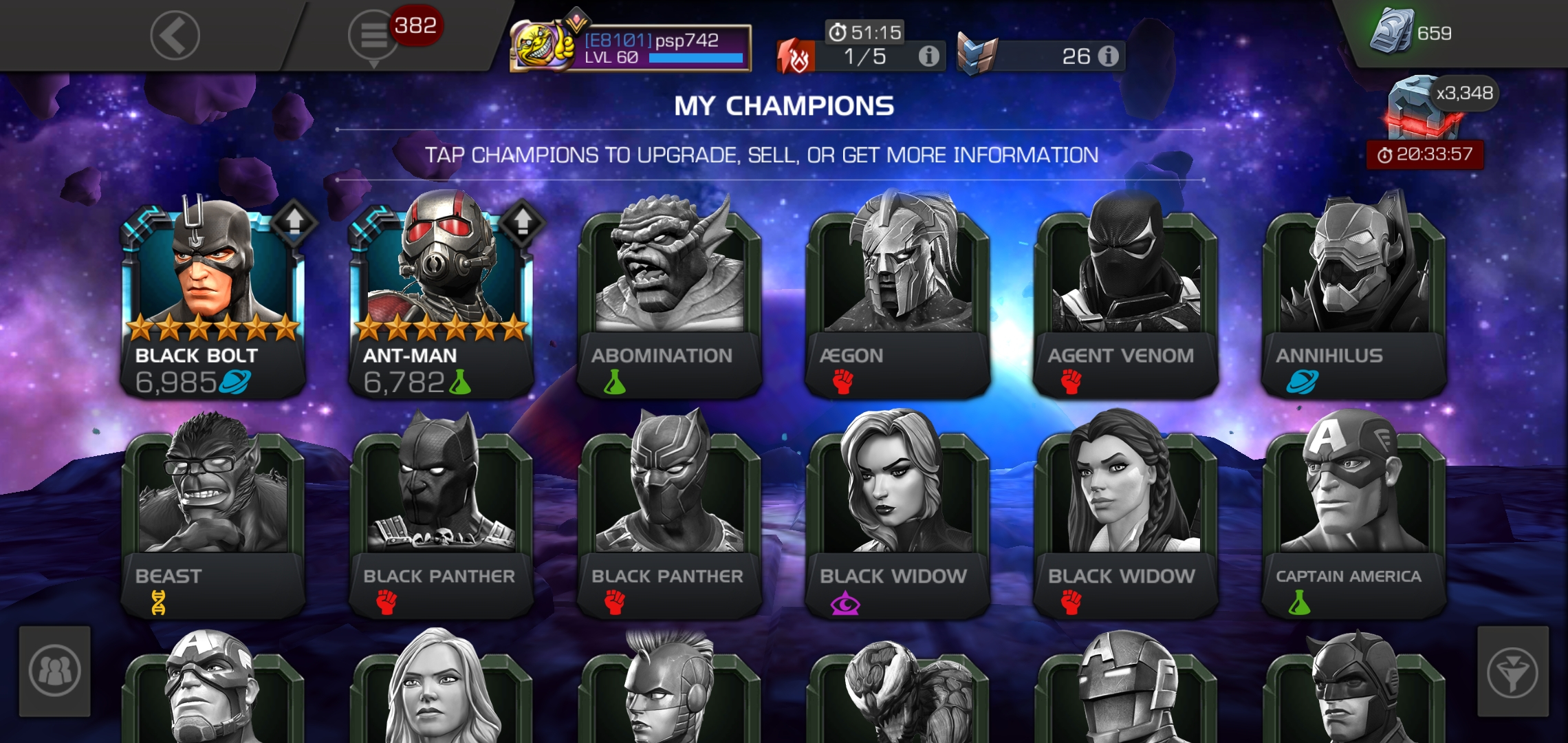 My Current 6 Champions From First To Latest Page 5 Marvel Contest Of Champions Grate mandela effect here in the frost poem he says not everything of gold can stay golden. contest of champions forum marvel contest of champions