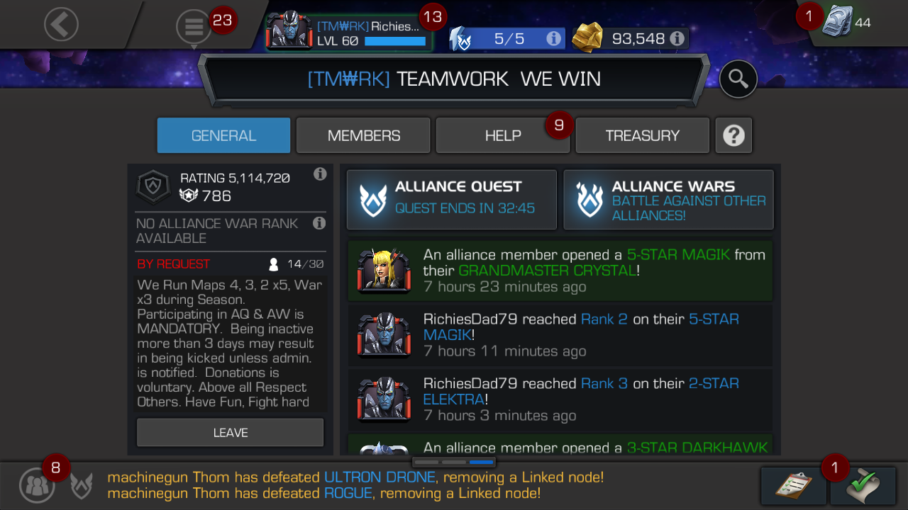 One of the best days in MCOC for me in awhile  So what to do