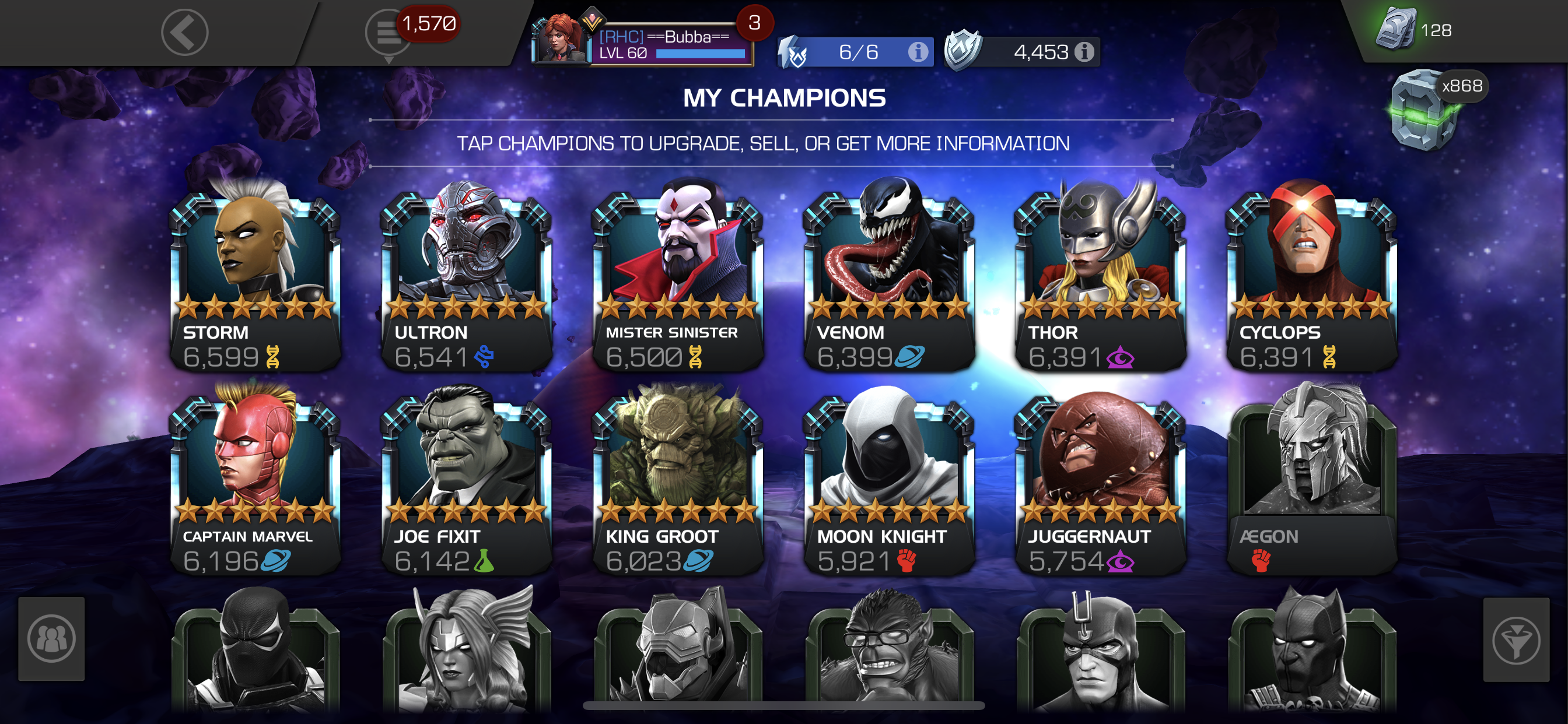 My Current 6 Champions From First To Latest Page 5 Marvel Contest Of Champions Stay golden, ponyboy by a wolf. contest of champions forum marvel contest of champions