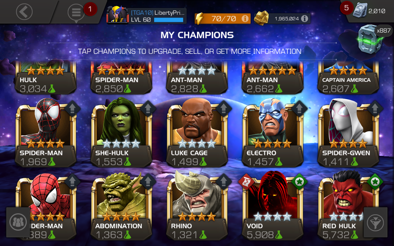 Mcoc Best Science Champs 2019 What Science Champion to Awaken and Rank Up? — Marvel Contest of