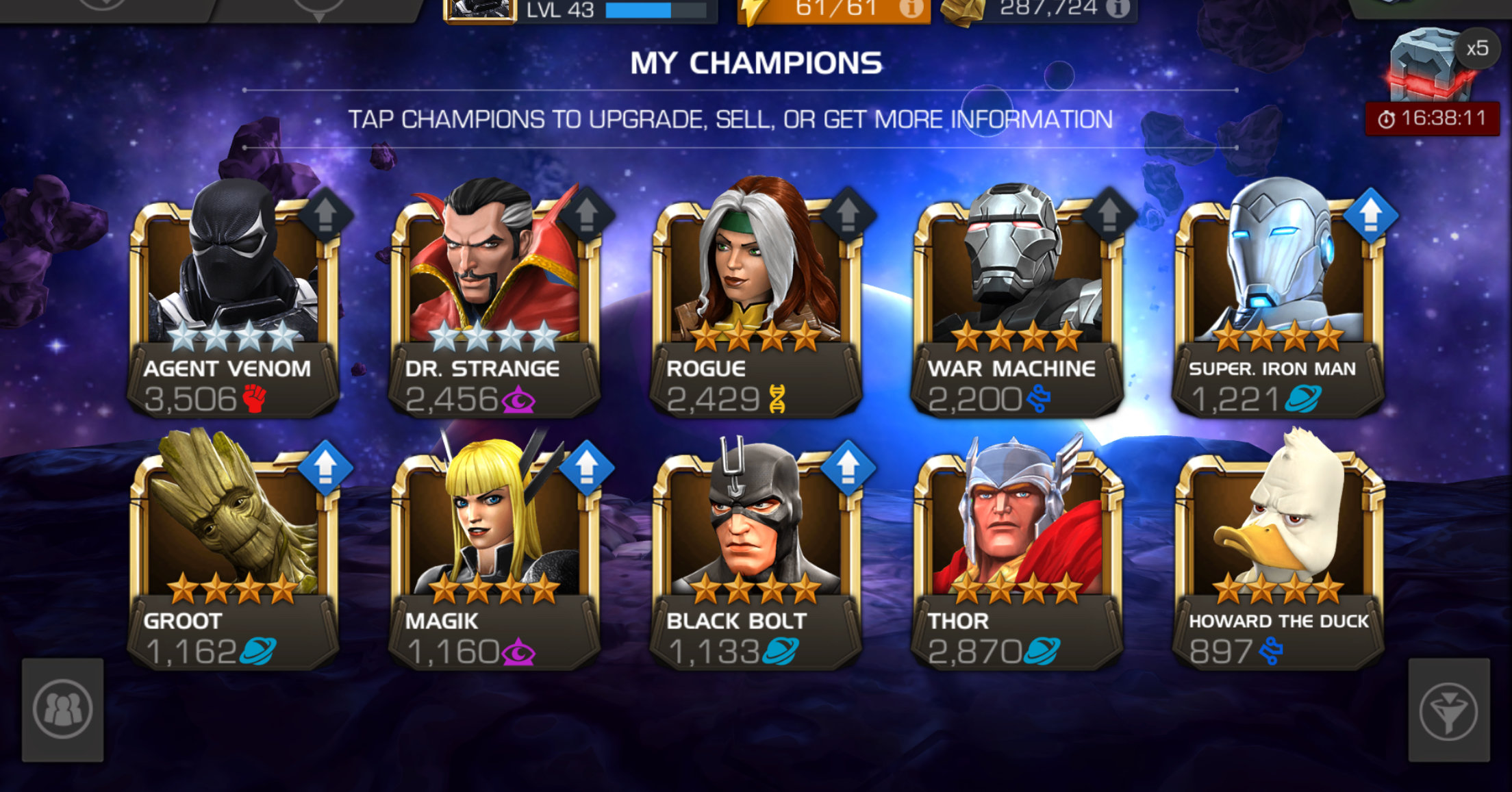 The Mcoc Best Champs Sep 2018 {Forum Aden}
