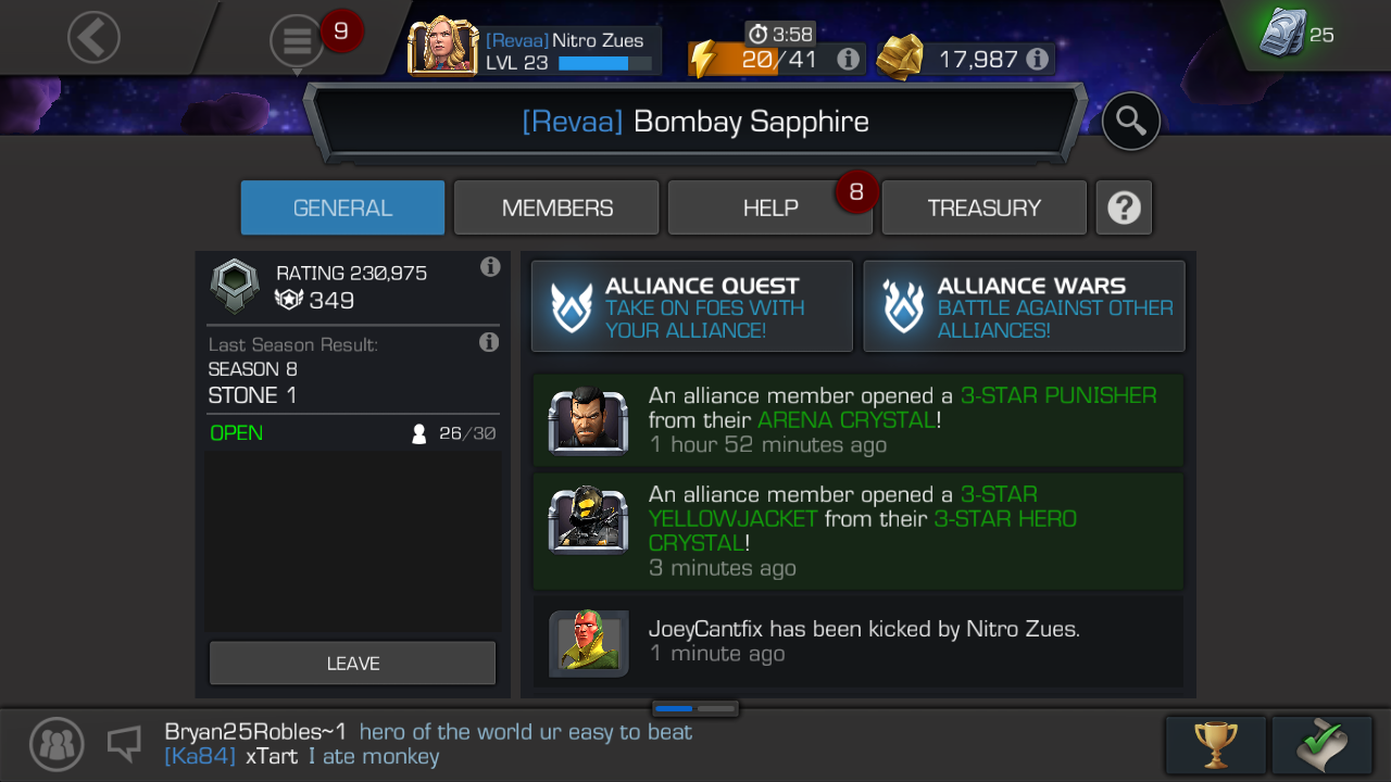 Do YOU want a new alliance? — Marvel Contest of Champions