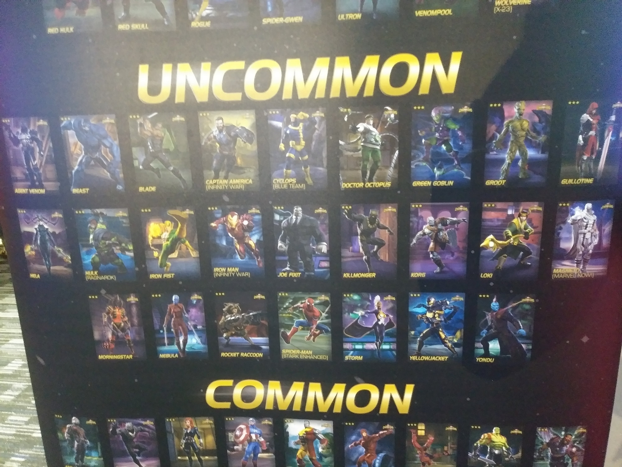 MCOC Arcade at D&B — Marvel Contest of Champions