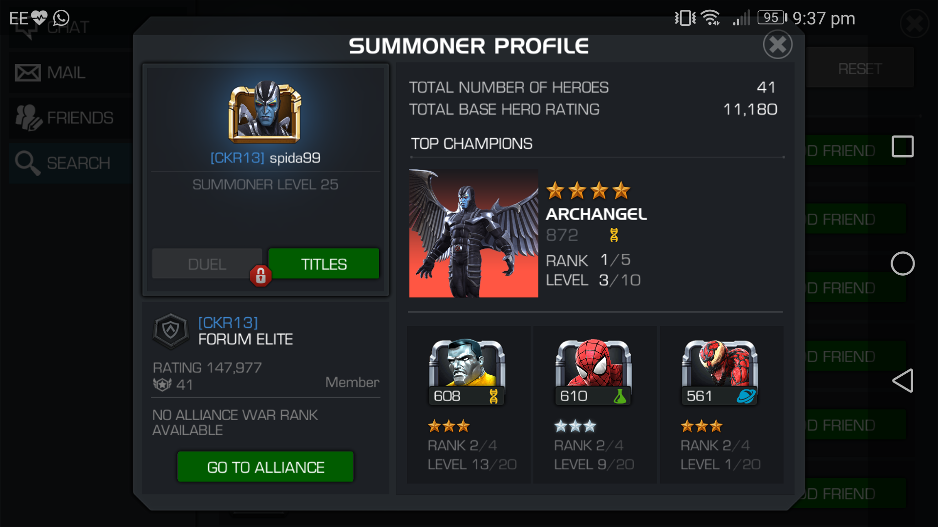 free kabam accounts for marvel contest of champions