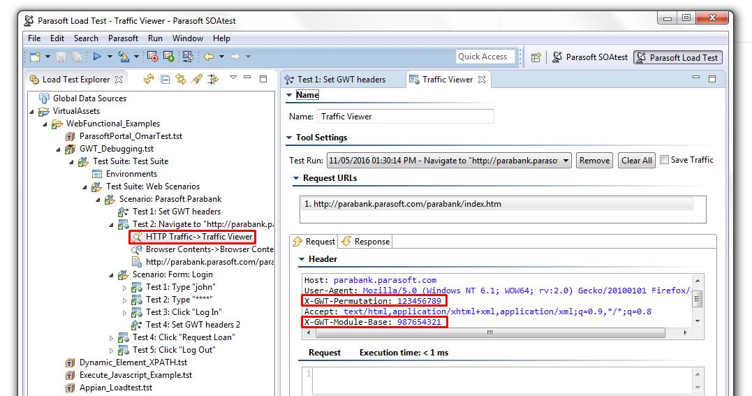 Resolving 500-Internal Server Error during Validate for Loadtest