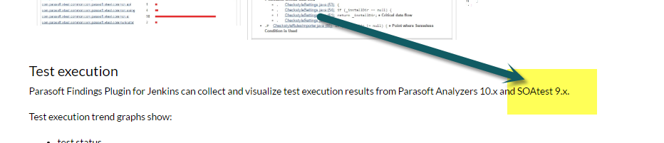 Need to run the SOATest test scripts from Jenkins on Linux