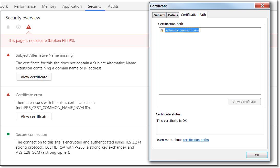 Setup Ssl Secure Localhost Proxy Parasoft Forum