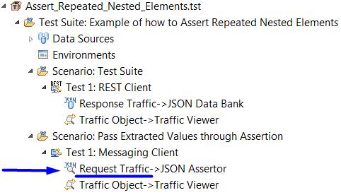 JSON REST API: Validate multiple responses against a DataSource