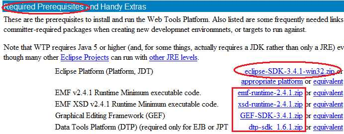 Install WTP for SOAtest plugin version [Pre- 9 x] — Parasoft Forum