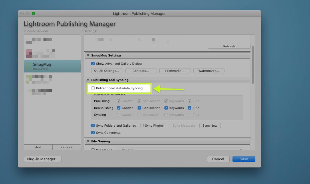 Metadata Synchronization Smugmug to Lightroom? — Digital Grin