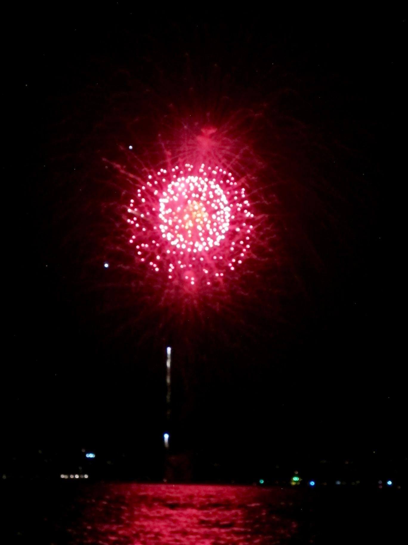 July 4th Fireworks off Dana Point, California — Digital Grin