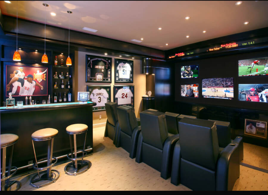 Man Cave Vs Study : The man cave or study what is your preference