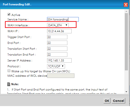 Zyxel Router Ssh Port Forwarding - Best Router in The World