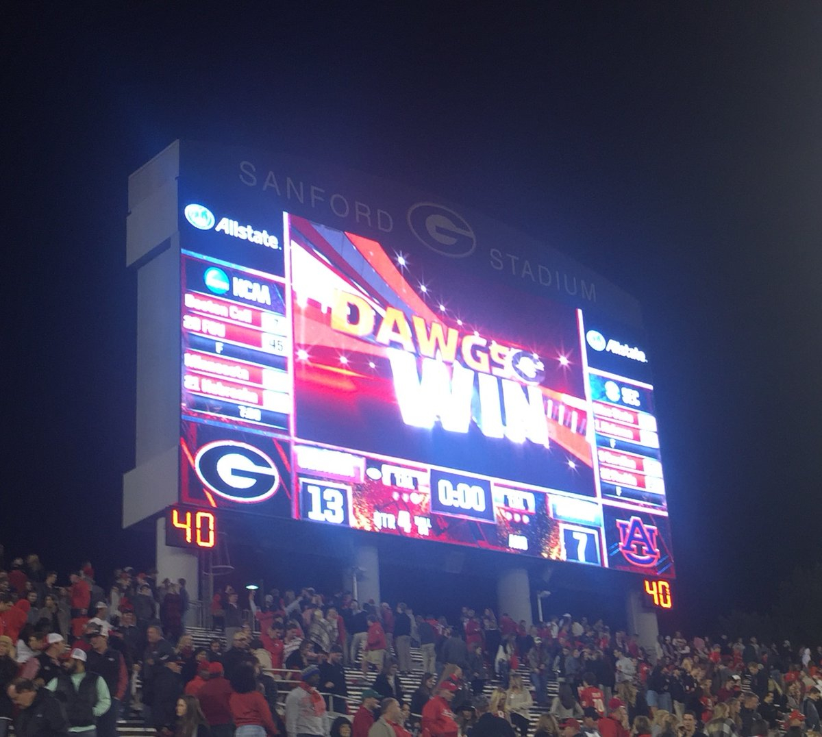 CONTEST - Predict the score of the Georgia-Auburn game ...