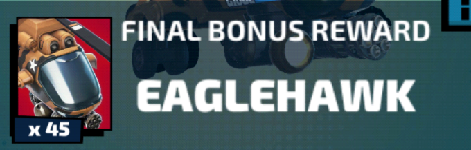 Eaglehawk Final Bonus Reward Image
