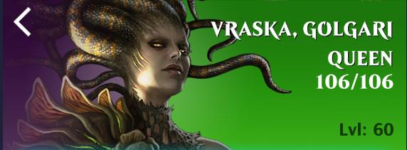 reine des Golgari Vraska Golgari Queen MTG magic GRN MRM ENGLISH Vraska