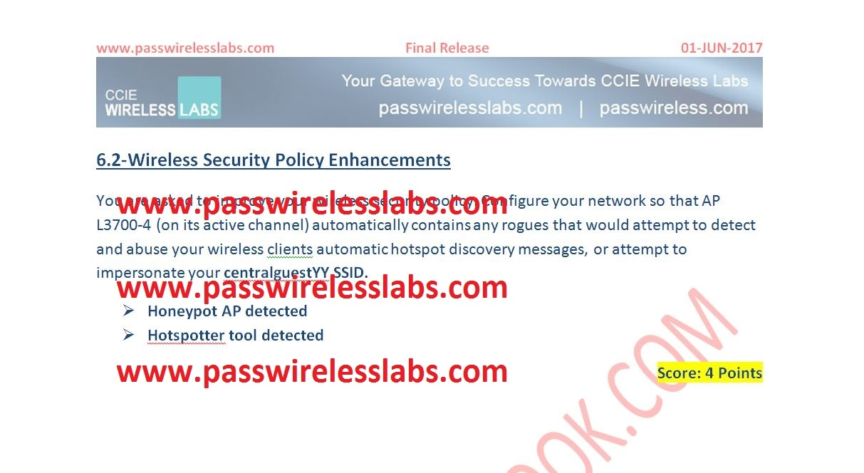 CCIE Wireless Version changing from 3 0 to 3 1 — The IT