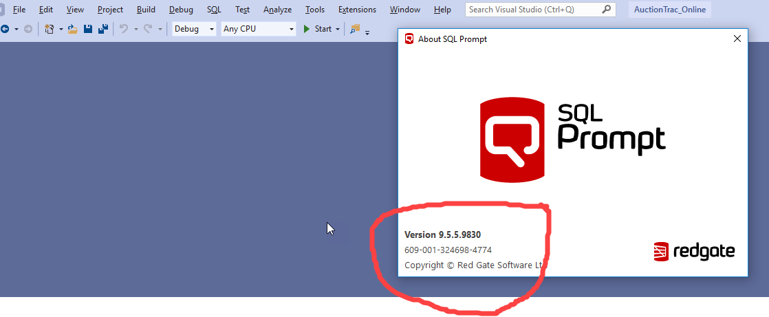 still doesnt install with visual studio 2019 — Redgate forums