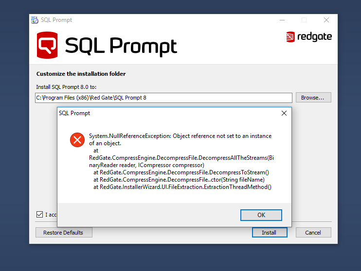 Sql Prompt Free Download Crack