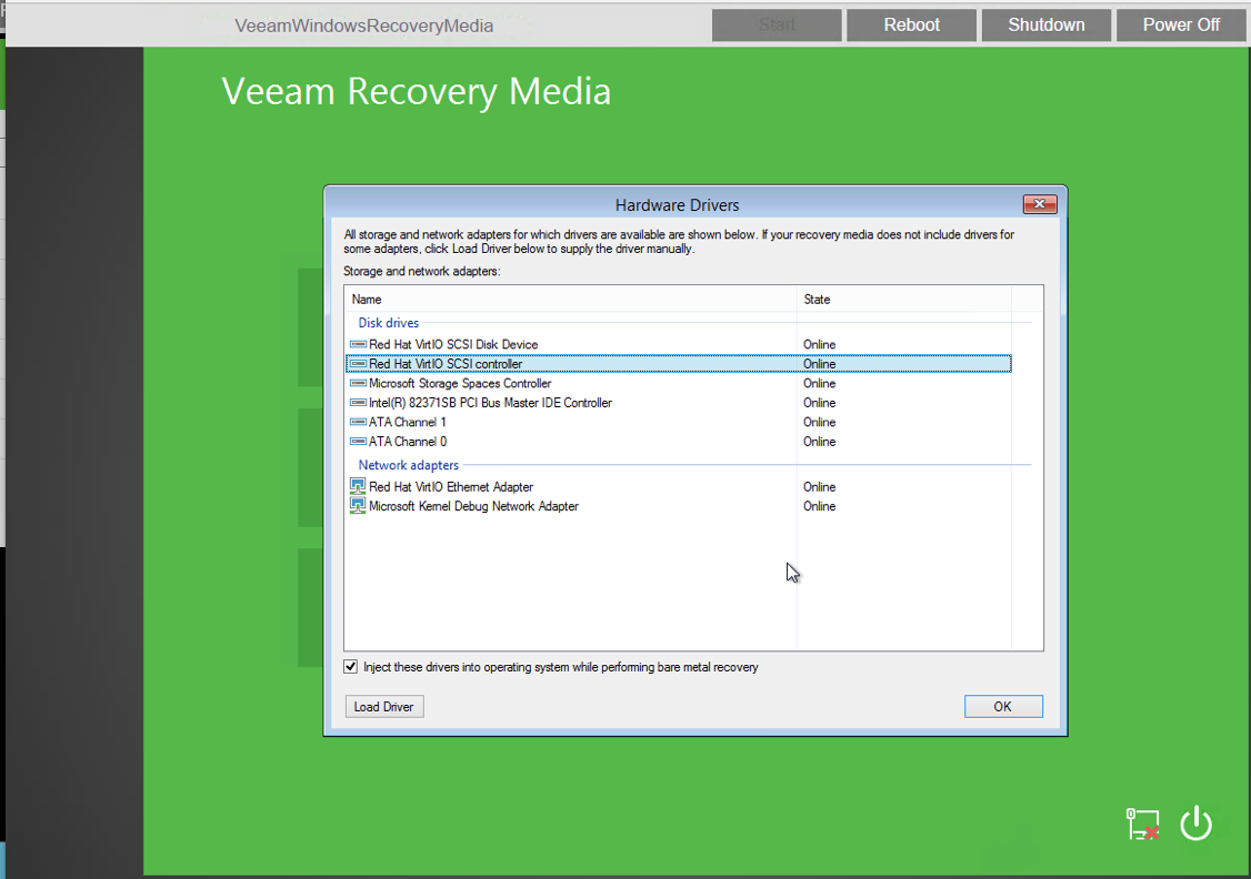 Veeam - Full VM Restore into HC3 - Windows and Linux Recovery