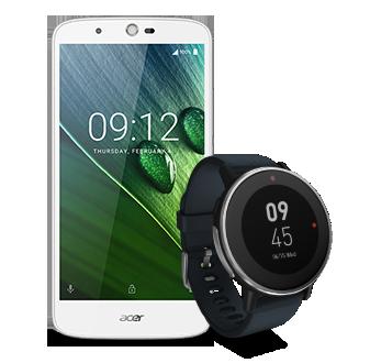 Smartphones e pulseiras inteligentes