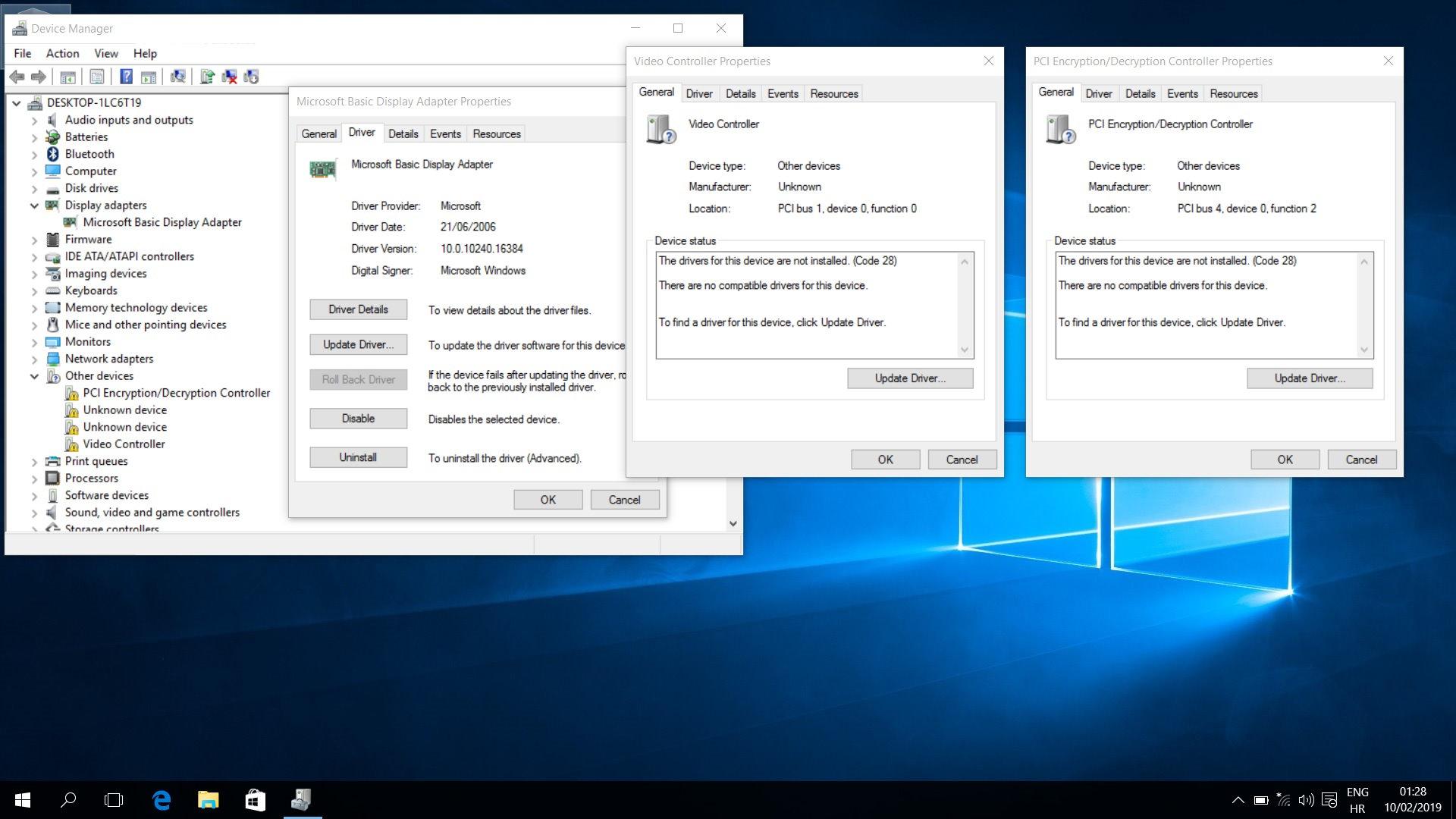 ACER PCI ENCRYPTIONDECRYPTION CONTROLLER TREIBER WINDOWS 7