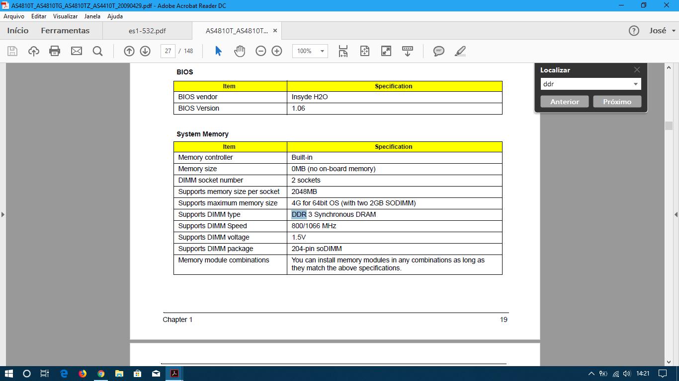 Aspire 4810t Bios Update on Windows 10 — Acer Community