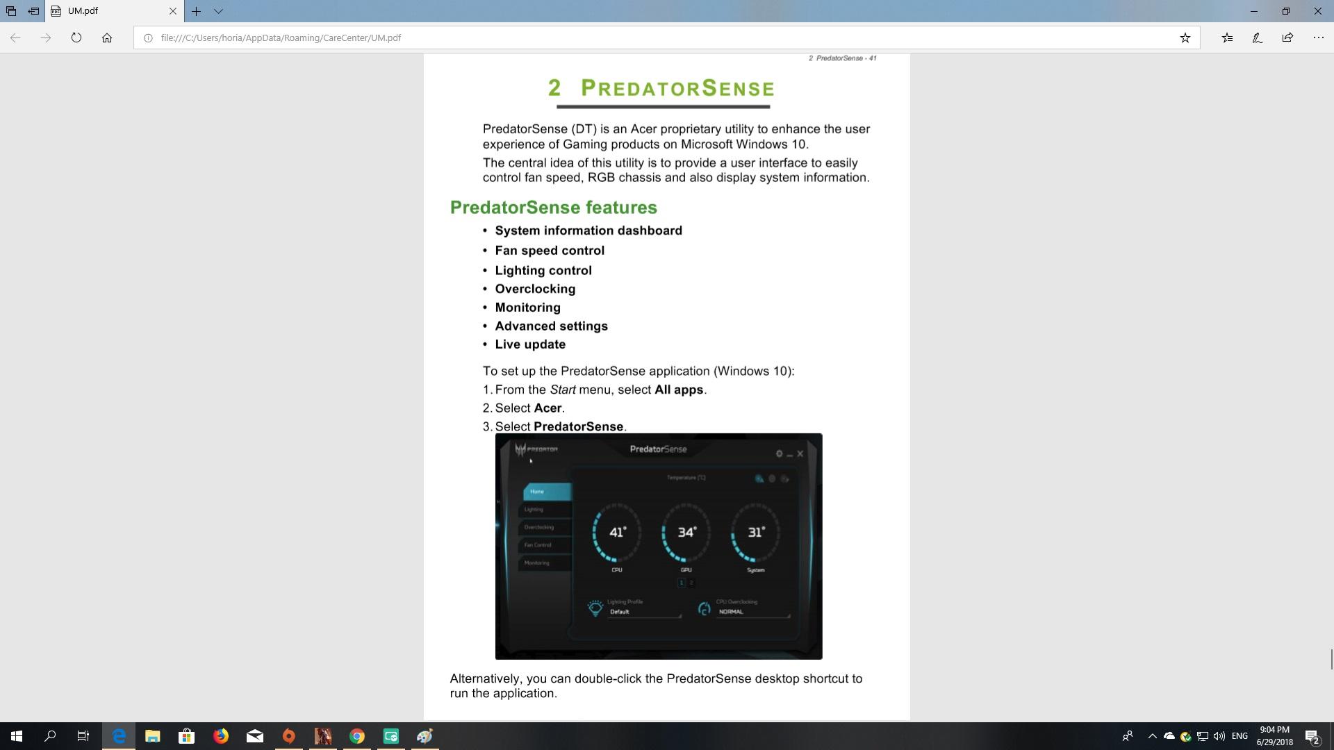 LED Control Predator Orion 5000 — Acer Community