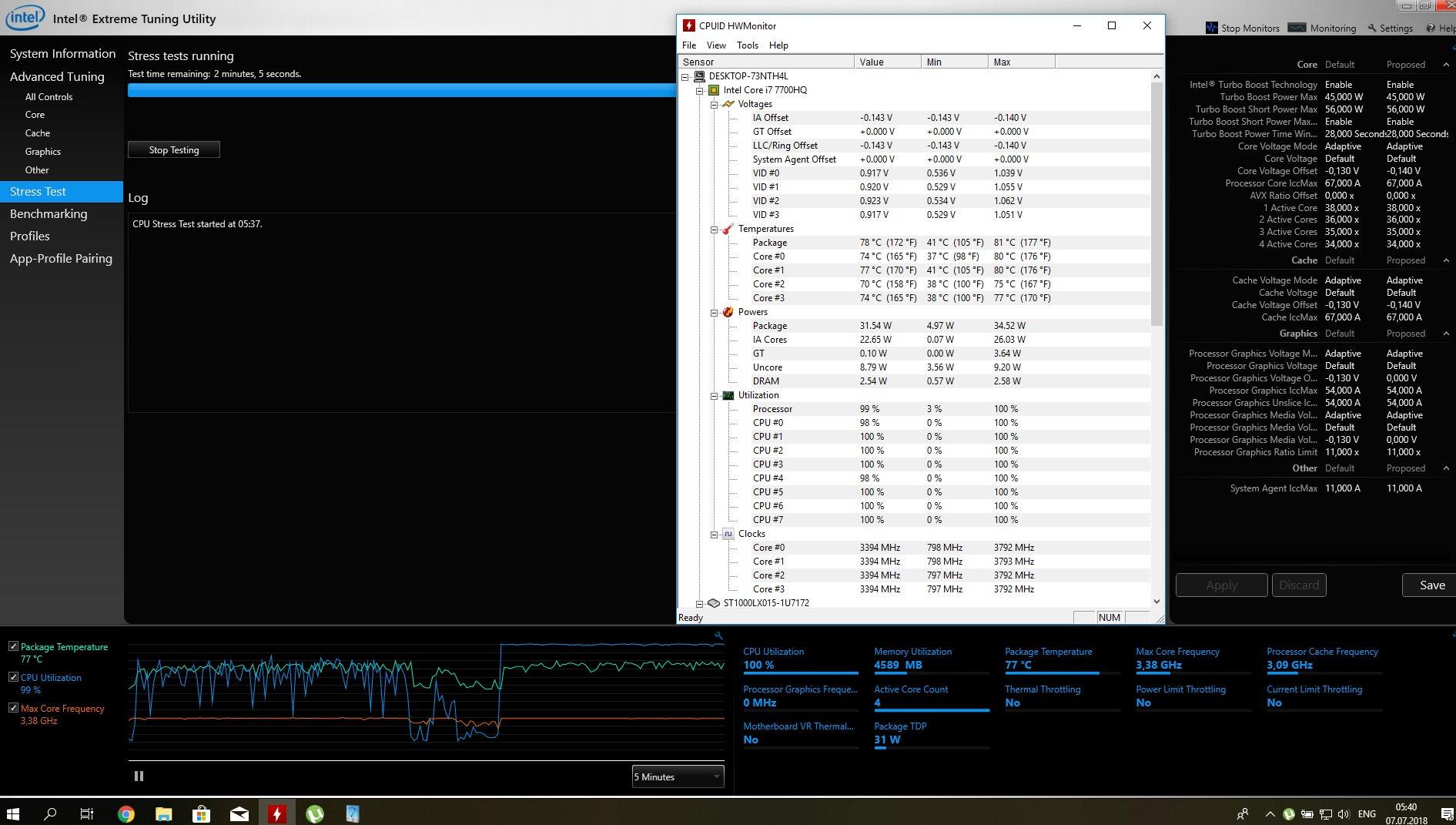 Acer VX 15 (VX5 591G) CPU temperature — Acer Community