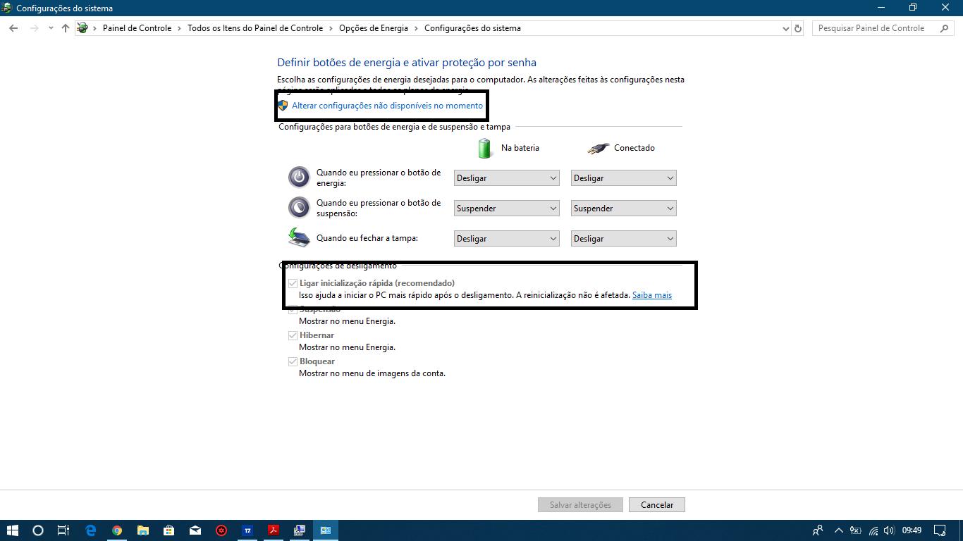 Acer Aspire E 15 E5-575G Shuts Down When Unplugged — Acer