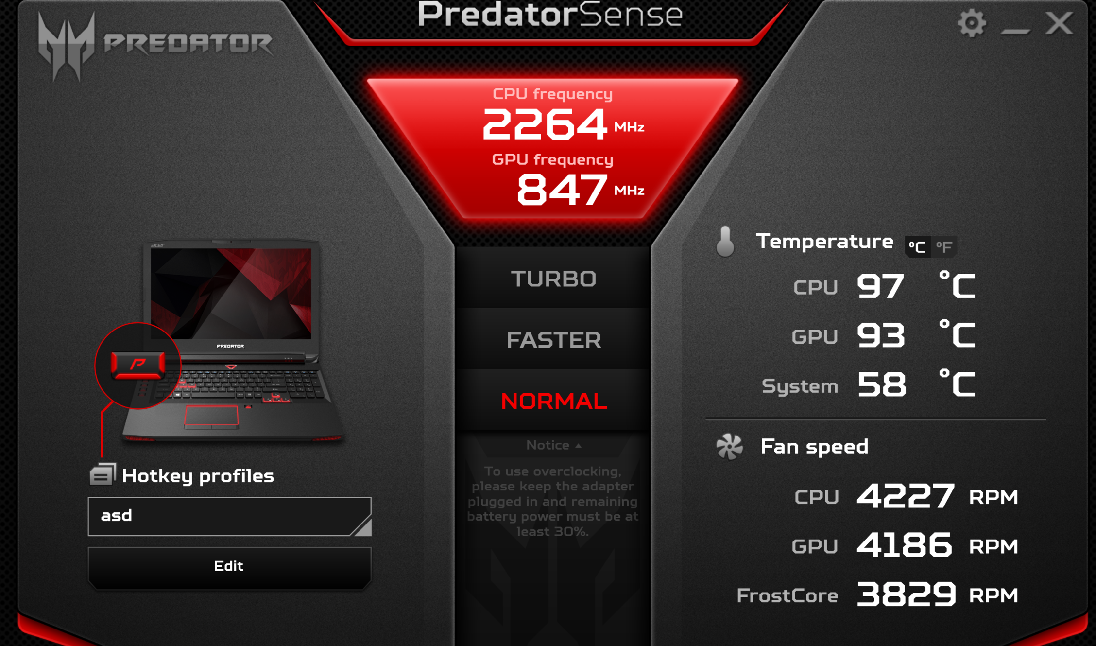 Predator g9-793 Fan control doesnt work and overheating — Acer Community