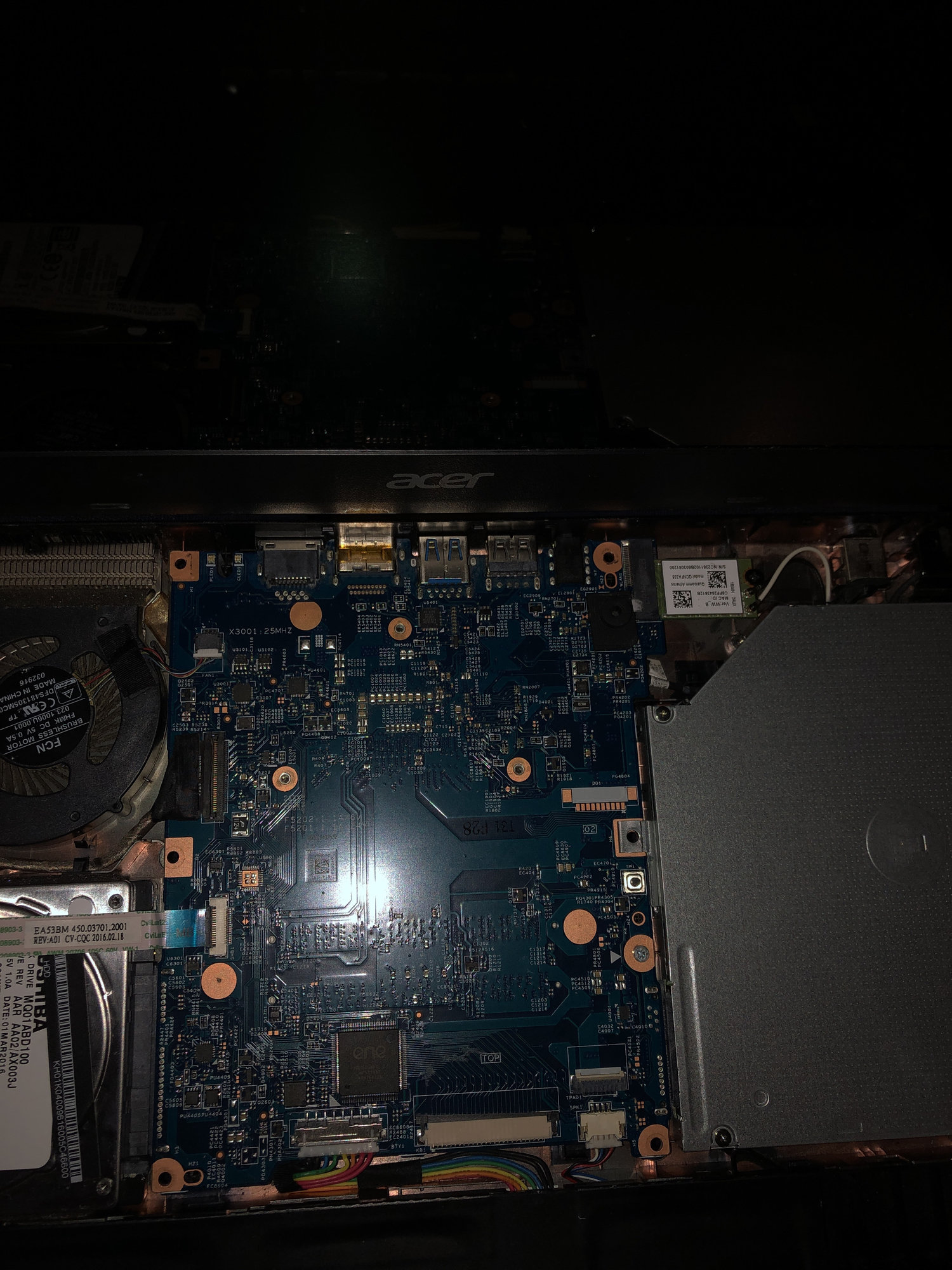 Where is the jumper to reset the Bios? — Acer Community