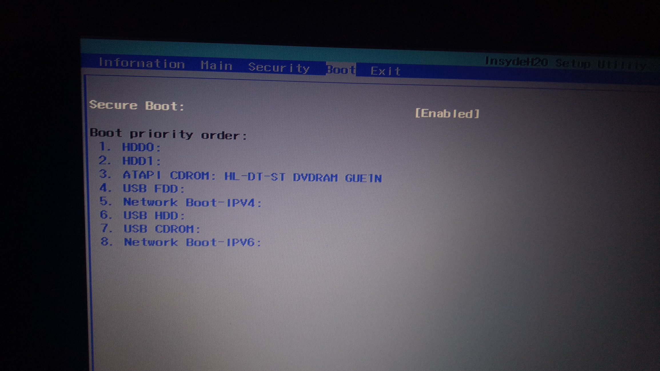 No bootable device for acer aspire es14 — Acer Community