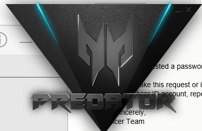 Acer Predator Helios 500 - Predator Sense Issue - Model