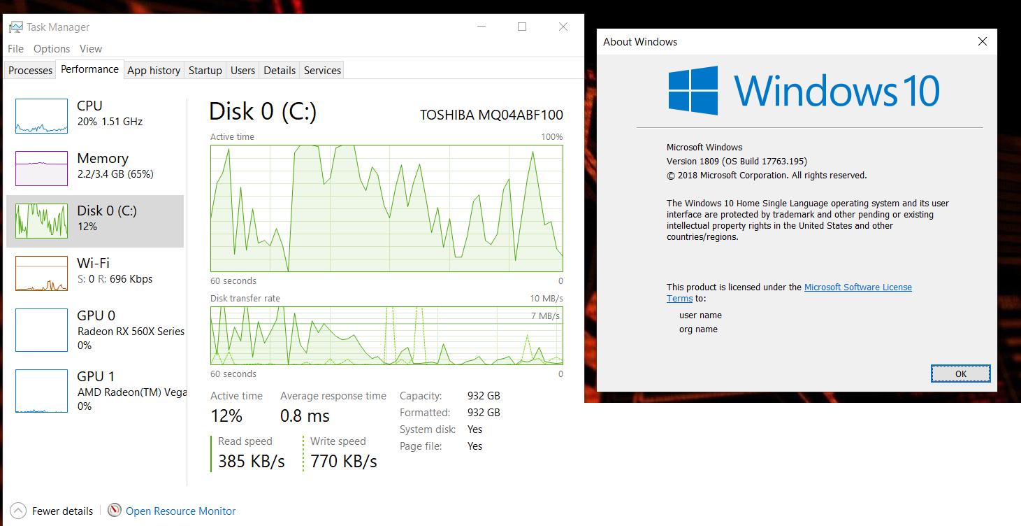 ACER NItro 5 AN515-42 AMD Windows Lag — Acer Community
