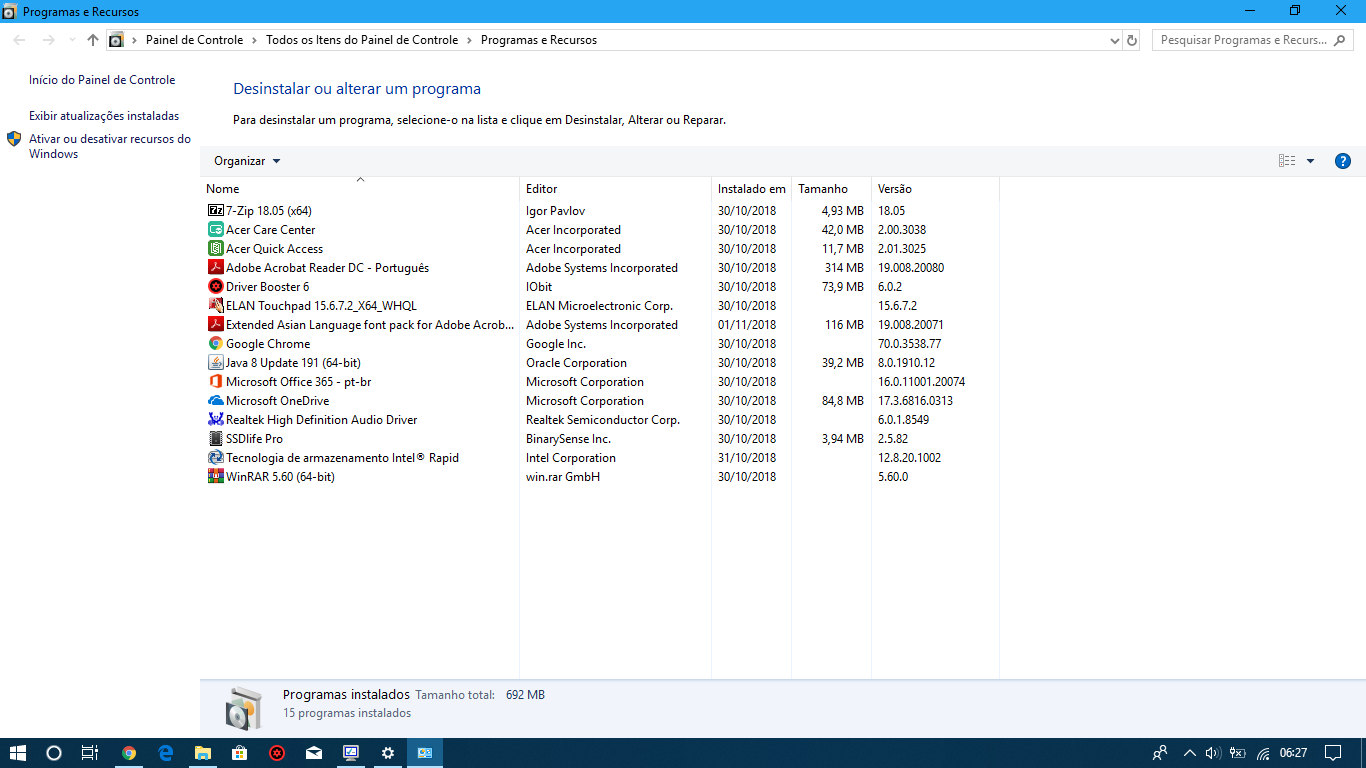 Windows Feature Update 1803 won't install on R7-371T — Acer