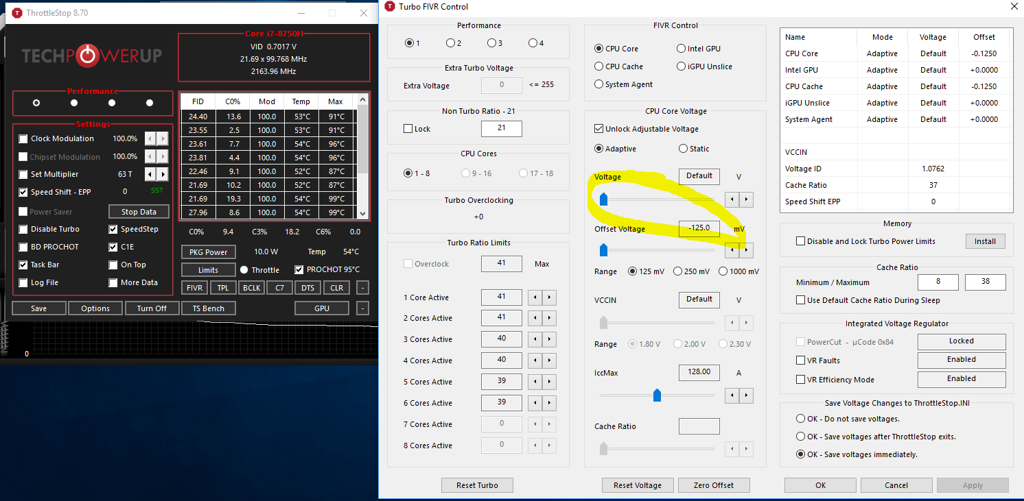 Helios 300 - CPU at 100 degrees celsius when playing fortnite — Acer