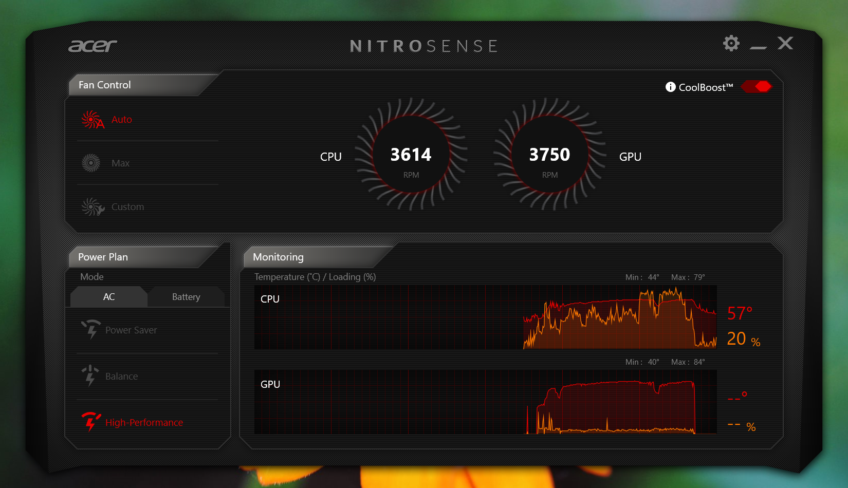 Question - Acer Nitro Ryzen 5: Are temps okay? | Tom's Hardware Forum