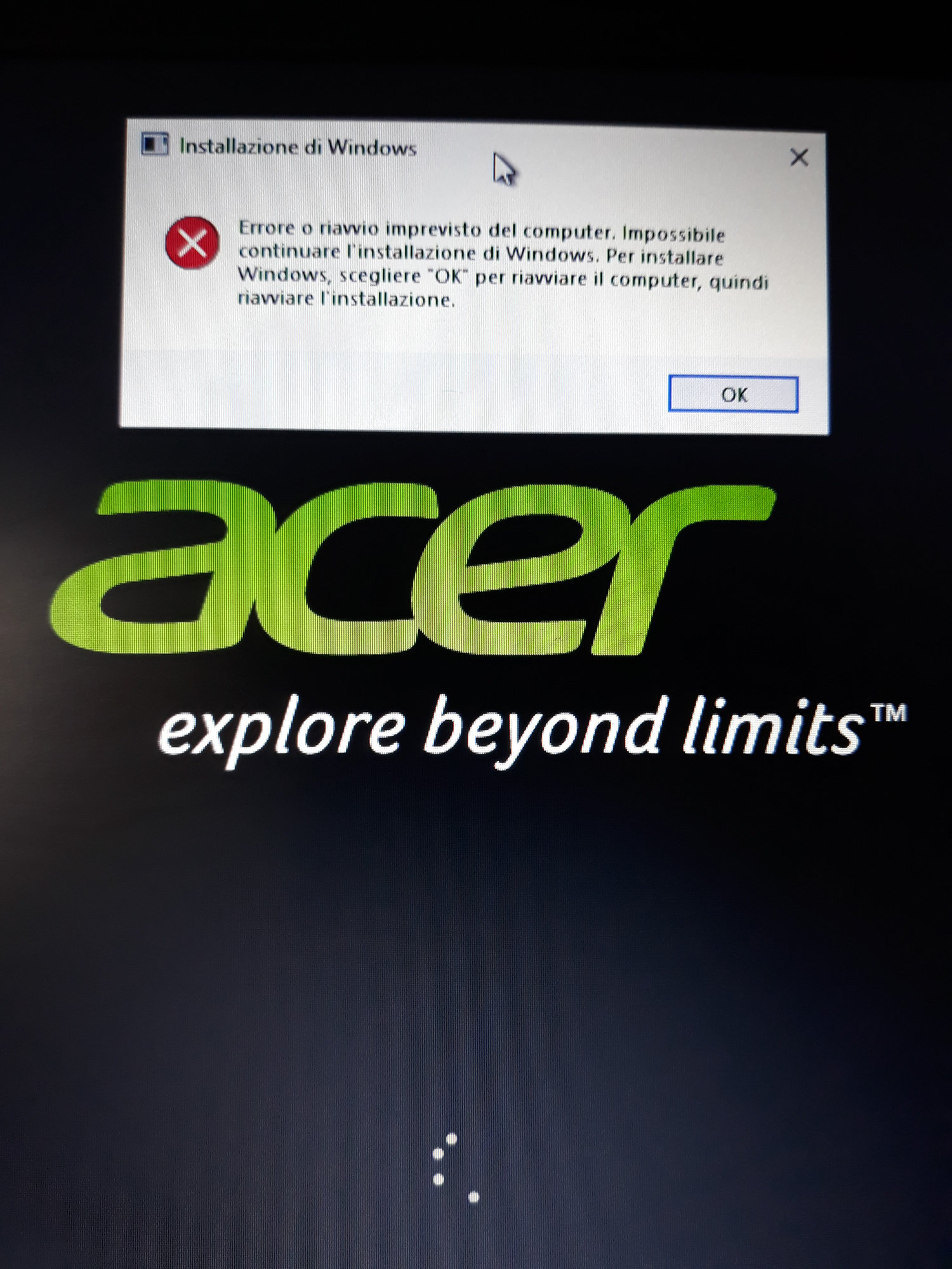How to Reinstall Windows 10 Cloudbook 14 AO1-431 from USB key — Acer  Community