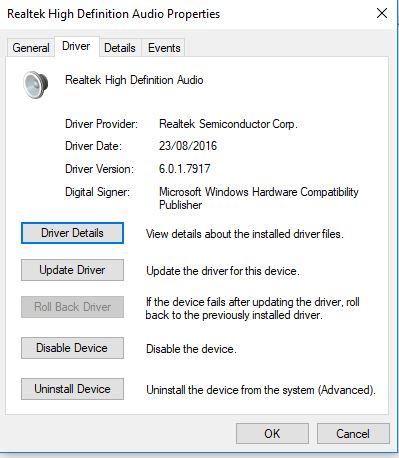 My Dolby Audio is missing after updating my computer — Acer