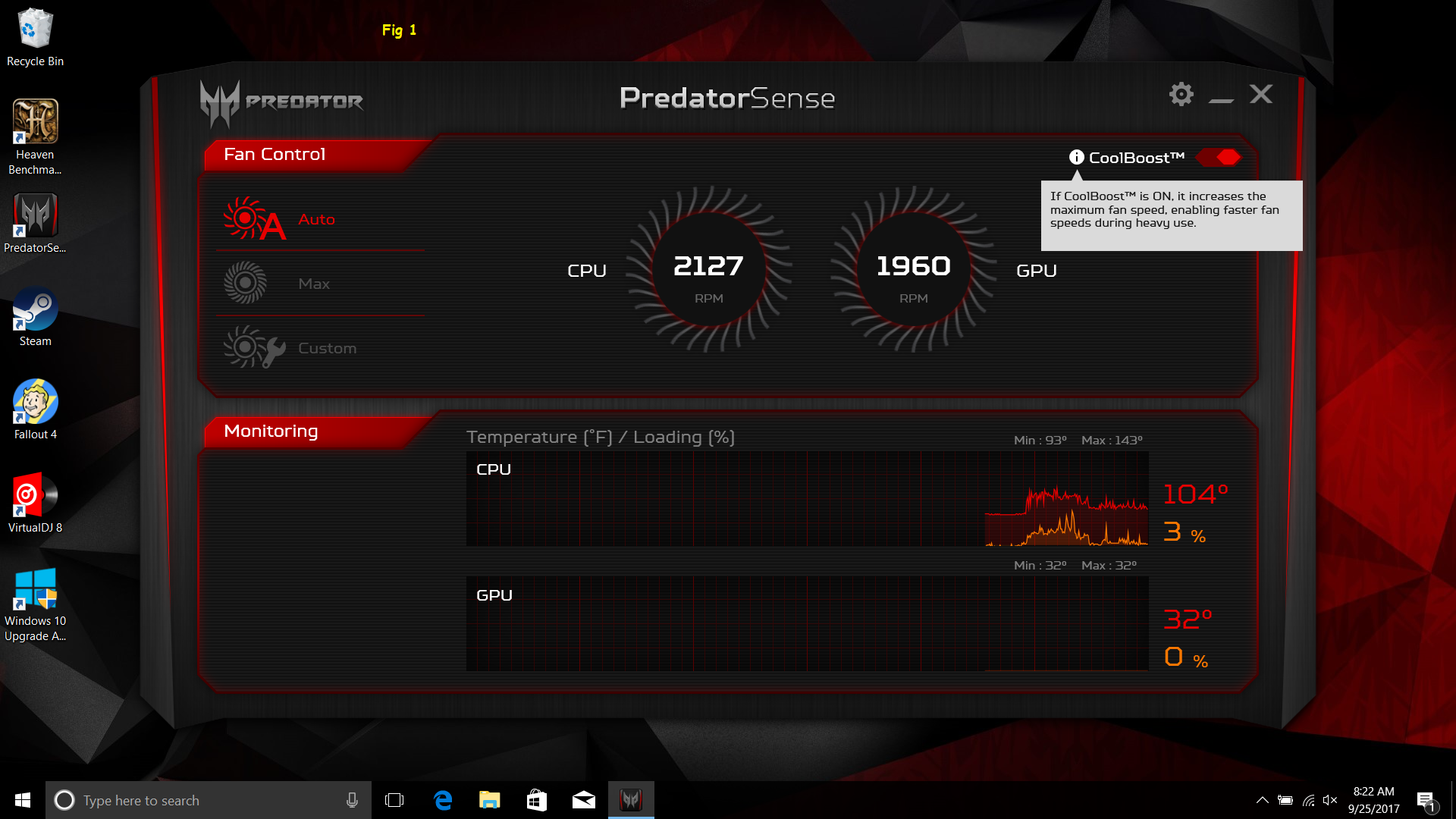 PredatorSense only has Fan Control Options — Acer Community