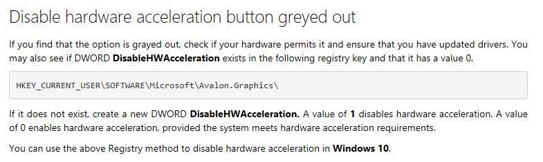 Hardware acceleration — Acer Community